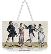 Quadrille, 1820 Weekender Tote Bag