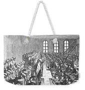 Quaker Meeting Weekender Tote Bag by Granger