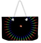 Quicklime Spectra Limelight Weekender Tote Bag by Ted Kinsman