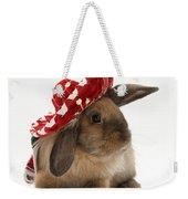 Rabbit Wearing A Hat Weekender Tote Bag