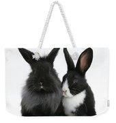 Rabbits Weekender Tote Bag