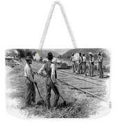 Railroad Construction Weekender Tote Bag