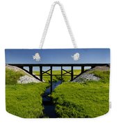 Railroad Trestle Weekender Tote Bag
