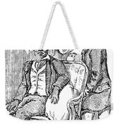 Railway Segregation, 1856 Weekender Tote Bag by Granger