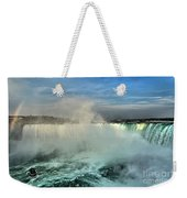 Rainbow Over The Maid Weekender Tote Bag
