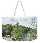 Ramsey Lake Boardwalk Weekender Tote Bag