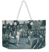 Reading The Declaration Of Independence Weekender Tote Bag