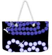 Real And Imitation Pearl Necklaces Weekender Tote Bag