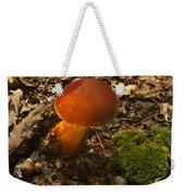 Red Caped Mushroom 3 Weekender Tote Bag