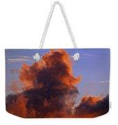 Red Clouds Weekender Tote Bag