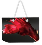 Red Ginger Alpinia Purpurata Flower Weekender Tote Bag