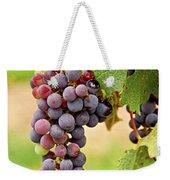 Red Grapes Weekender Tote Bag by Elena Elisseeva