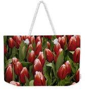 Red Tulip Heaven Weekender Tote Bag