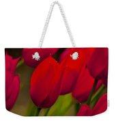 Red Tulips In Holland Weekender Tote Bag