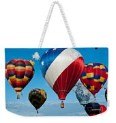 Red White And Balloons Weekender Tote Bag