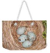 Red-winged Blackbird Nest Weekender Tote Bag