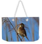 Reed Warbler Weekender Tote Bag
