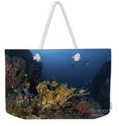 Reef Scene With Coral And Fish Weekender Tote Bag