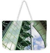 Refinery Detail Weekender Tote Bag by Carlos Caetano