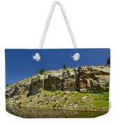 Reflecting Cliffs Weekender Tote Bag