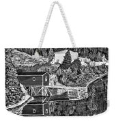 Reflections B W Weekender Tote Bag by Barbara Griffin