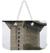 Remains Of Anti-aircraft L-tower Weekender Tote Bag