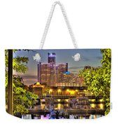 Renaissance Center Detroit Mi Weekender Tote Bag
