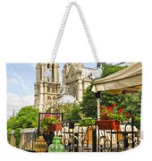 Restaurant On Seine Weekender Tote Bag