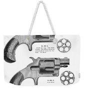 Revolvers, 19th Century Weekender Tote Bag