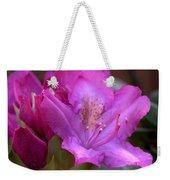 Rhododendron Bloom Weekender Tote Bag
