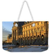 Richelieu Wing Of The Louvre Museum In Paris Weekender Tote Bag