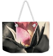 Rita Rosebud Pink Weekender Tote Bag