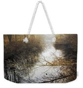 River In The Fog Weekender Tote Bag