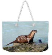 River Otter Weekender Tote Bag
