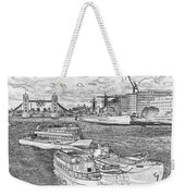 River Thames Art Weekender Tote Bag