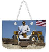 Robonaut 2 Poses Atop Its New Wheeled Weekender Tote Bag by Stocktrek Images
