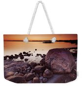 Rocky Shore At Twilight Weekender Tote Bag