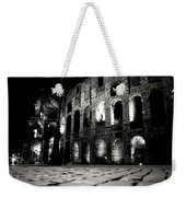 Roman Night Weekender Tote Bag