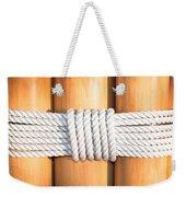 Rope Weekender Tote Bag by Tom Gowanlock