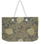 Rose Weekender Tote Bag by William Morris