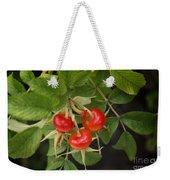 Rosehips Weekender Tote Bag