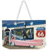 Route 66 Elvis Weekender Tote Bag