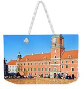 Royal Castle In Warsaw Weekender Tote Bag