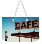 Roy's Cafe Weekender Tote Bag