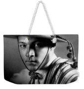 Rudolph Valentino Weekender Tote Bag