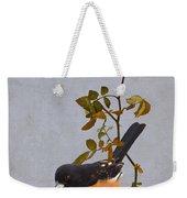 Rufous-sided Towhee Weekender Tote Bag