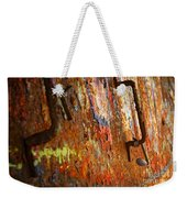 Rust Background Weekender Tote Bag