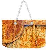 Rusty Gate Detail Weekender Tote Bag