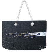 Saab 105 Jet Trainers Of The Swedish Weekender Tote Bag