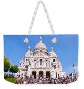 Sacre Coeur Basilica Paris France Weekender Tote Bag